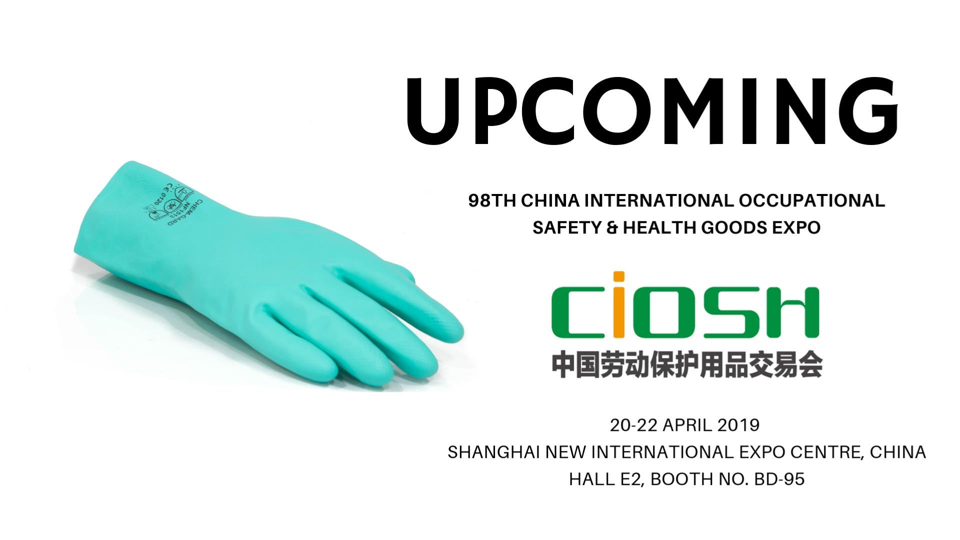 Upcoming CIOSH Expo_April 2019
